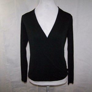 Eileen Fisher Shirt Top PS Crossover V-Neck